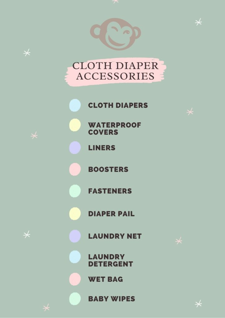 Must have cloth diaper accessories checklist - A Little Monkey