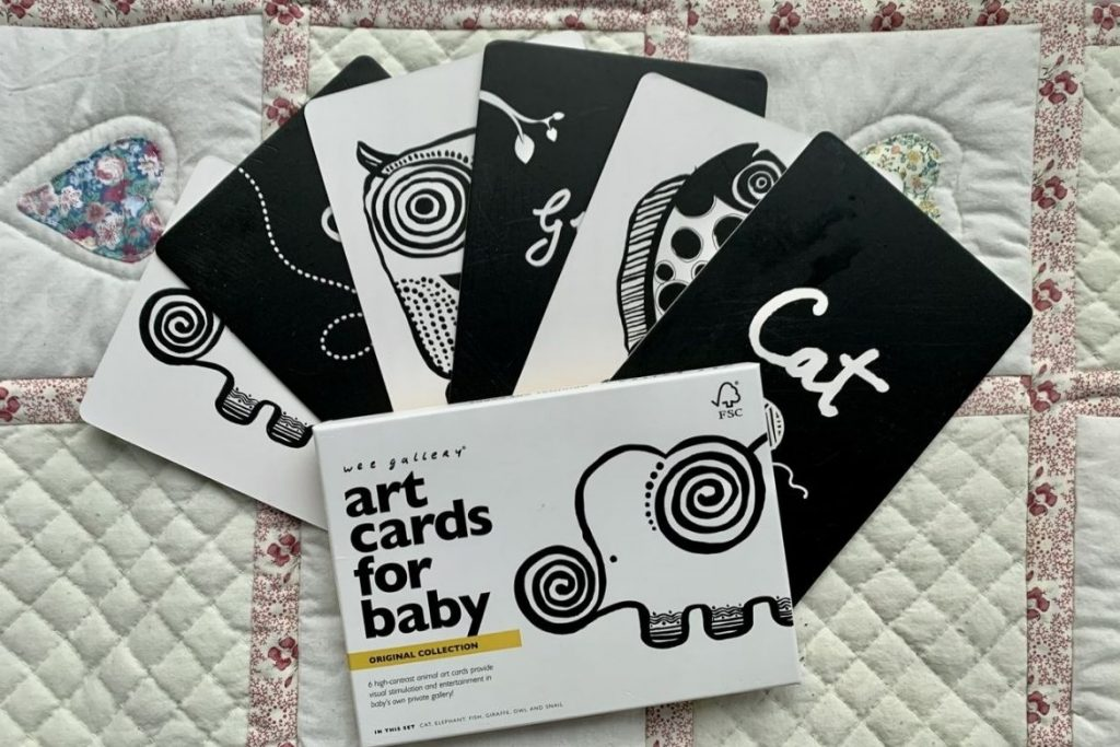 Baby Art Cards